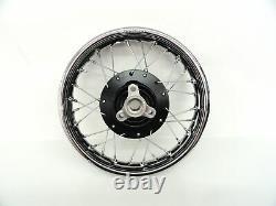 For Suzuki 1978-up JR 50 Rear Wheel Rim Hub Spoke Complete Wheel Kids Motorcycle