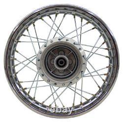 For Yamaha 02-Up TTR 125 TTR125 14 Complete Rear Rim Wheel Assembly Sprocket
