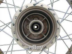 For Yamaha 02-Up TTR 125L TTR125 14 Complete Rear Rim Wheel Assembly Sprocket