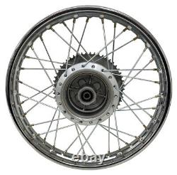 For Yamaha 02-Up TTR125 TTR 125L 16 Complete Rear Rim Wheel Assembly Sprocket
