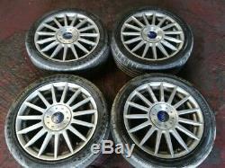 Ford Focus Mk1 St170 2001-2004 15 Spoke 17 Complete Set X 4 Alloy Wheels