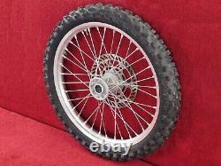 Front Rim Complete withRotor & Tire 99-02 KX250 KX125 Frt Wheel KX 125/250
