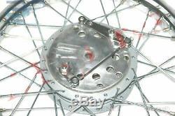 Front Wheel Rim + 7'' Complete Hub Drum Polished For Royal Enfield BSA S2u