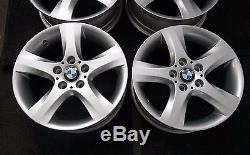 GENUINE BMW E81 E82 E87 E88 Complete Set 4x Wheel Alloy Rim 17 spider spoke 142