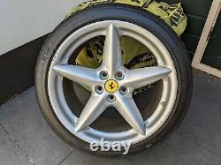 GENUINE Ferrari 360 OEM (BBS) WHEELS RIMS COMPLETE SET (7.5Jx18 & 10Jx18)
