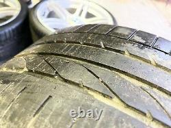 Genuine Bmw 19 M Sport 313 Alloy Wheels And Tyres Set Complete Chrome