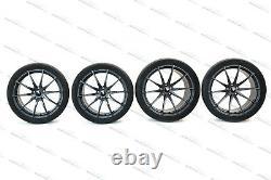 Genuine Mclaren Mso 675lt 10 Spoke Ultra Light 19/ 20alloy Complete Wheel Set