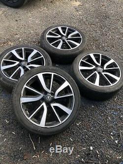Genuine Nissan Qashqai/X Trail 19Diamond Tekna Alloy Wheels J11 Complete Set