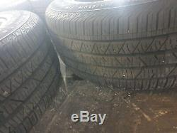 Genuine Range Rover Velar 19 Style 5046 Grey Alloy Wheel Set & Tyres Complete