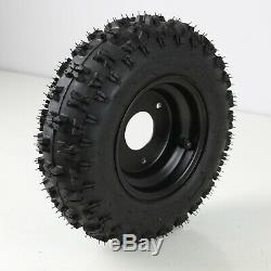 Go Kart Rear Axle Assembly Complete Wheel Hub Kit & 4.10-6 Tires Rims Brake Cyli