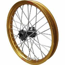 Gold/Black 2.15 x 19 GOLD # BLACK EXCEL REAR PRO SERIES COMPLETE WHEEL