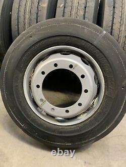 Goodyear 275/70.22.5 Truck Bus Tyre complete on steel 10stud rims