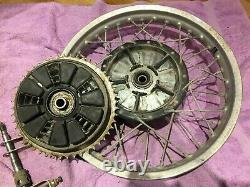 Grimeca conical rear wheel 160mm brake complete assembly brakes, alloy rim etc