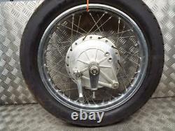 Honda CB750 KZ DOHC 1979-1980 Complete Rear Back Wheel Assembly 2.15 X 18