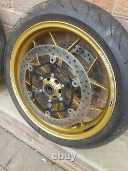 Honda CBR 1000 RR Fireblade 2013 wheels complete 2012 2016