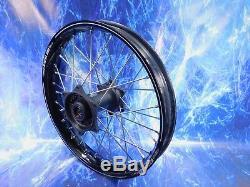 Honda Complete Rear Wheel Excel Black Rim OEM A60 Billet Hub Assembly 125-450
