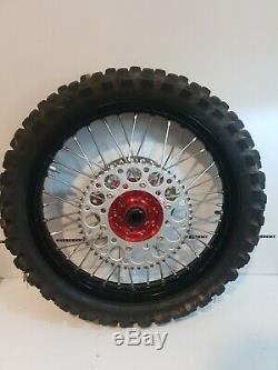 Honda Crf250x Crf250 Crf450 Crf450x Complete Like New Wheel Set Wheels Rims 04+