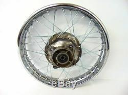Honda Rear Wheel Rim Spokes 16 Complete 1985-Up CRF100 XR100 CRF 100 XR 100