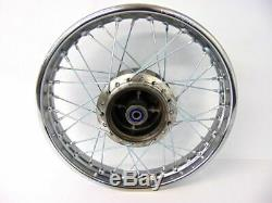 Honda XR80 XR 80 CRF 80 CRF80 Rear Wheel Rim Spokes Complete Wheel 14