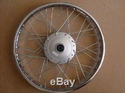 Honda complete FRONT wheel rim C50 C70 SS50 CL70 S65 H2577