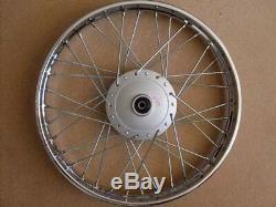 Honda complete FRONT wheel rim CD90 CT90 C200 CT110 1.4x17 H2629