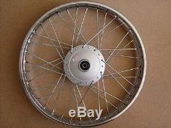 Honda complete FRONT wheel rim CF50 S90 SS90 CL90 CS90 H2578