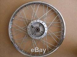 Honda complete REAR wheel rim S65 CD50 C70 H2575
