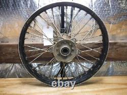 Husqvarna Cr125 Cr Rear Wheel Spokes Rim Hub Complete 2001