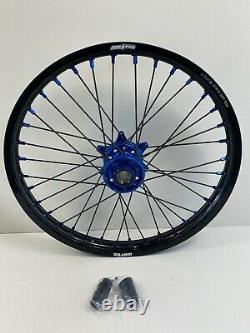 Husqvarna FX FC FE Motocross Wheels Rims Black Blue Complete 18/21 125 250 450