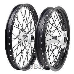 Impact Complete Front/Rear Wheel Kit 1.60 x 21/2.15 x 19 Black Rim/Black Spoke/W