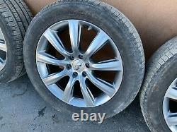 Infiniti Qx56 Qx80 2011-2019 Oem Rims Wheels Tires 20x8 (set/ Complete)