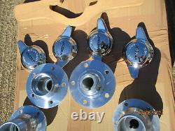 Jaguar MK2 240 340 V8-250 wire wheel conversion set complete with hubs/spinners