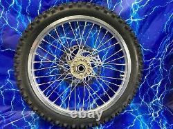 KTM Complete Front Wheel Excel silver Rim OEM Hub Assembly 125-701