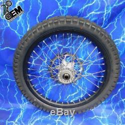 KTM Complete Front Wheel Rim OEM Black Stock Assembly 125-530