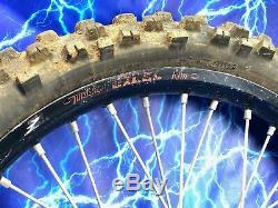 KTM Complete Front Wheel Rim OEM Excel 21 Black Stock Assembly 125-530