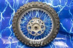 KTM Complete Rear 19 X 2.15 Wheel Excel silver Rim OEM Hub Assembly 125-701