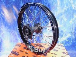 KTM Complete Rear Wheel Excel Black Rim OEM A60 Billet Hub Assembly 125-701