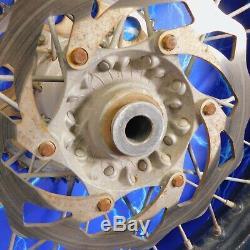 KTM Complete Rear Wheel Rim Black OEM Stock Assembly 125-530 19x2.15