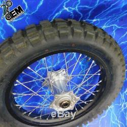 KTM Complete Rear Wheel Rim OEM Black Stock Assembly 125-530 18x2.15