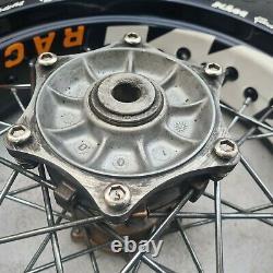 KTM LC4 640 1997-2007 Complete Rear Wheel 160/60-17 Tyre Rim Hub SMC Supermoto