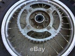 Kawasaki Kx 85 Original Oem Genuine Complete Rear Wheel Rim 2001 2019 D