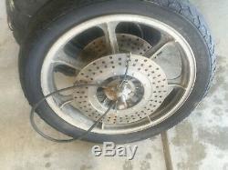 Kawasaki z1r z1 tc -r kz1000 kz complete oem Front Wheel Rim 18in 18x2.15