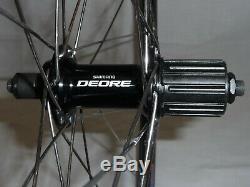 Kinlin XM250 26 rim brake MTB/Hybrid wheels with Shimano hubs