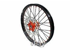 Kke 21 18 Complete Wheel Rim Set Fit Ktm Exc Xcw Sx 125 250 350 530 2003-2020
