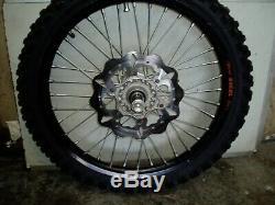 Ktm 250 2011 2t Front & Rear Wheels Takasaga Excel Rims 21 & 19 Complete