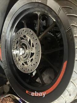 Ktm Duke 125 / 390 Wheels 2017- Pair Set Complete Supermoto Rims Tyres Discs