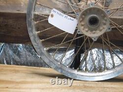 Kx250f Rear Wheel Hub Spokes Rim Complete 2010