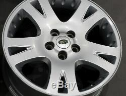 Land Rover Discovery Silver Complete Set 4x Wheel Alloy Rim 19 9J ET53
