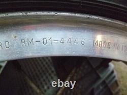 Laverda 750 GT S SF Front Wheel type complete with Borrani 4446 rim