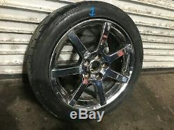 Lexus Oem Gs300 Gs400 Gs430 Wheel Rim And Tire 235 45 17 17 Inch Chrome 98-05